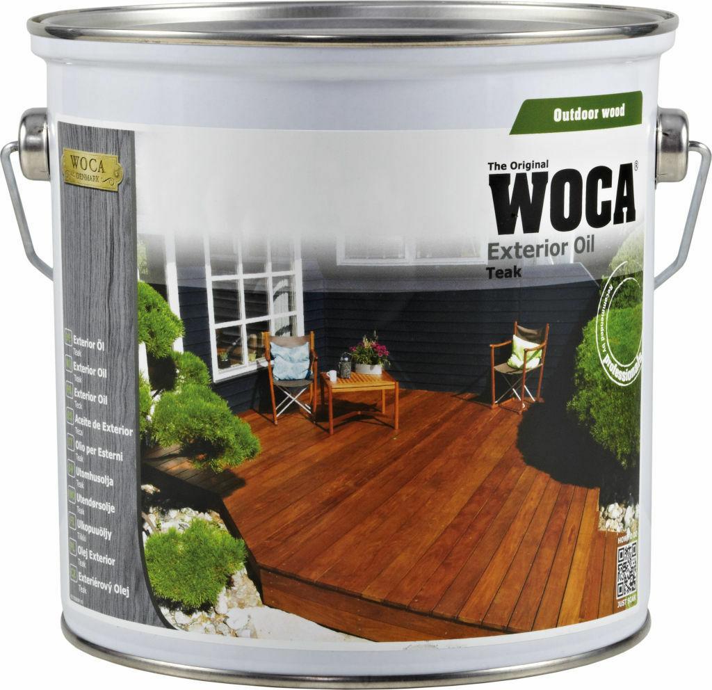 Woca Aceite De Exterior Para La Protección De Los Tablones De Madera Para Terraza Teka 2 5 L