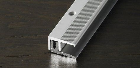 Häufig Abschlussprofil 26 mm Alu eloxiert Edelstahl 7 - 18 mm 270 cm IQ23