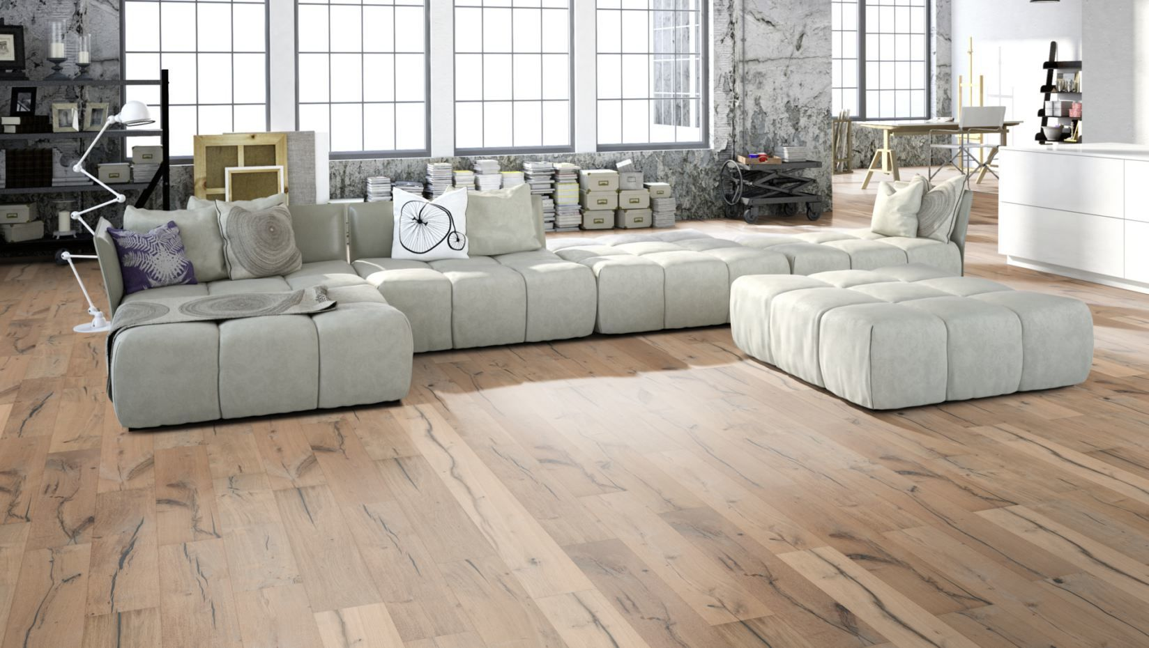 Wood neutral parkett