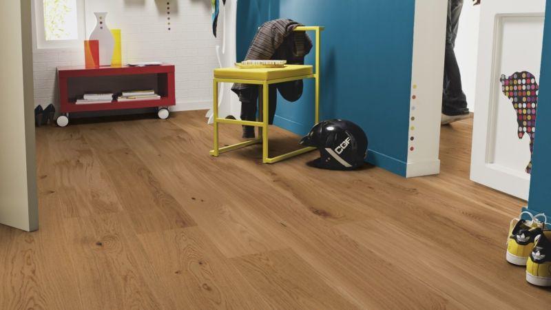 Tarkett Parquet Pure Rustic Oak wideplank / plank XT XL M2V Proteco Natura, brushed 13 mm