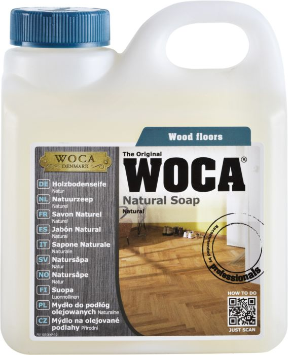 WOCA Holzbodenseife Natur 2,5 l
