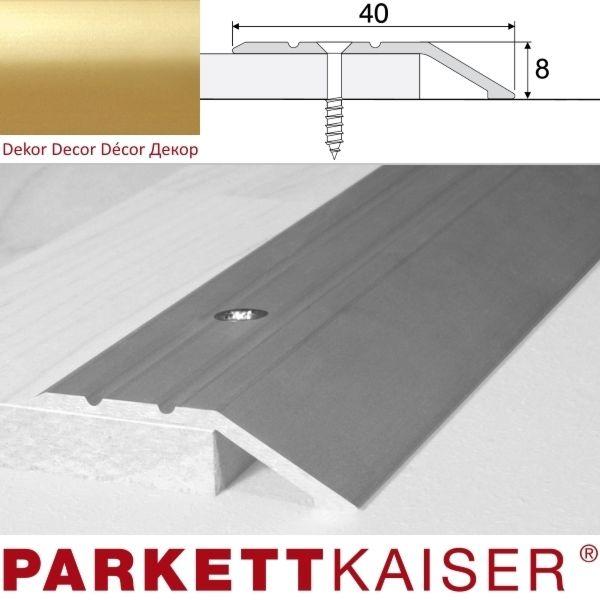 Brebo Abschlussprofil A11 Gold Aluminium eloxiert 180 cm