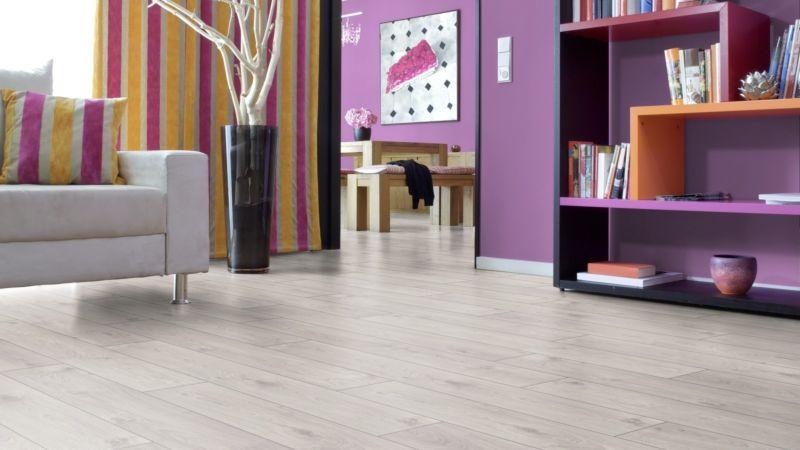 Laminate Select Atlas Oak white D3223 1-plank wideplank 4V width 193mm