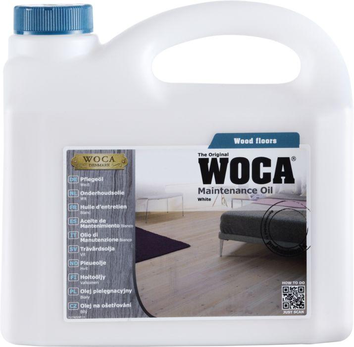 WOCA Aceite de Mantenimiento Blanco 1 l