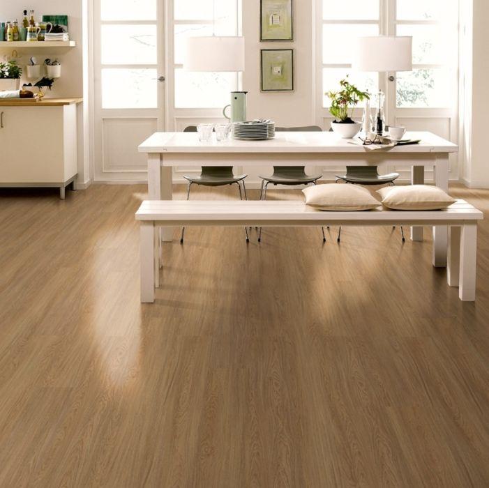 Wicanders Vinylboden wood Go Honigeiche strukturiert 1-Stab Landhausdiele