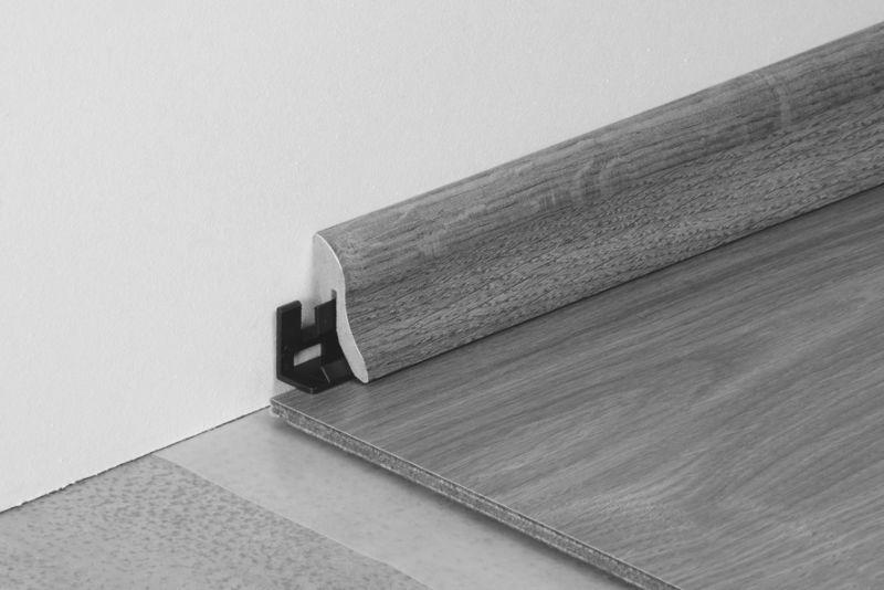 Tarkett Sockelleiste A Eiche Heritage Grau Höhe: 4,0 cm
