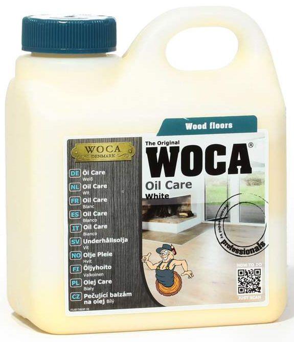WOCA Oil Care Waterbased White 1 l