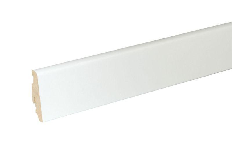 Matching skirting 6 cm high White FOFA015 240 cm