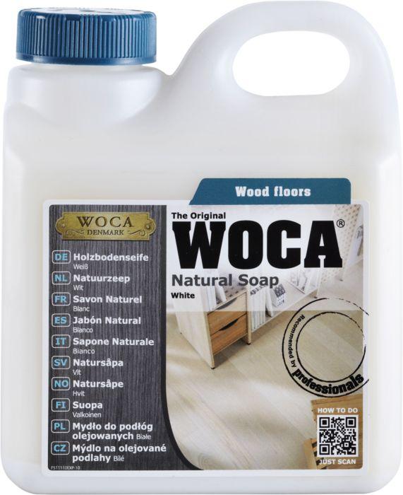 WOCA Holzbodenseife Weiß 1 l
