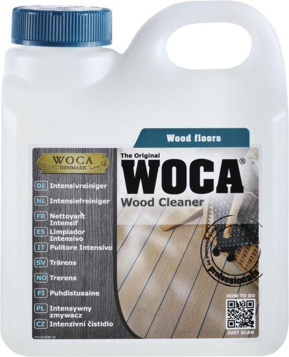 WOCA Intensivreiniger für Reinigung von verschmutzen Holzoberflächen 1 l