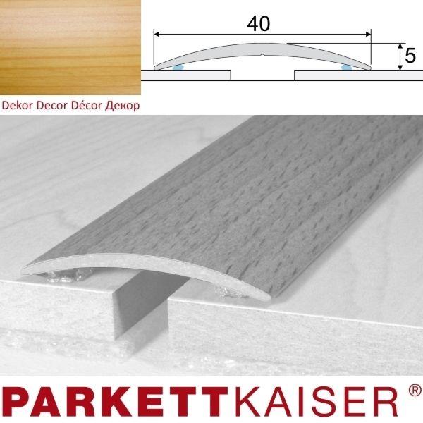 Brebo Übergangsprofil A13 selbstklebend Kiefer Aluminium furniert 180 cm
