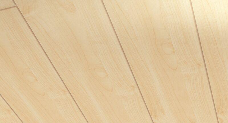 Parador Wand/Decke Dekorpaneele Home Ahorn 1250x149 Raum1