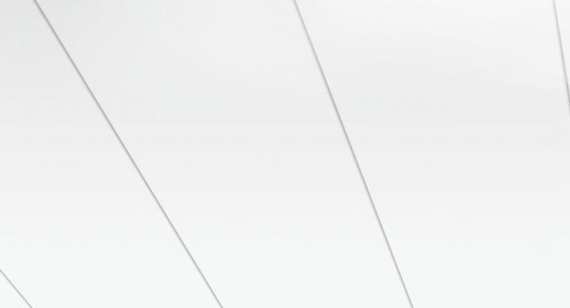 Parador Wand/Decke Dekorpaneele Style Arktisweiß Hochglanz 1280x182 Raum1