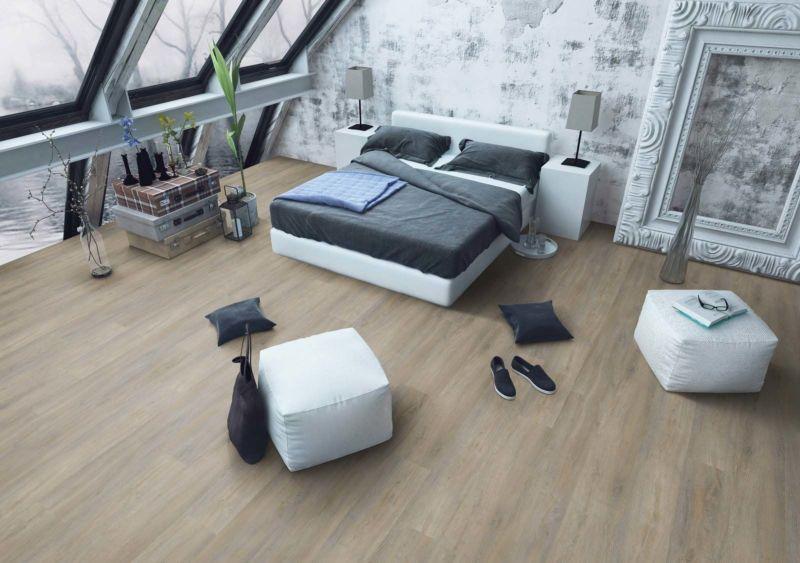Skaben Design Rhino Glue-Down 30 XL Infinity Eiche Natur 1-Stab Landhausdiele M4V Trittschalldämmung zum kleben Raum3