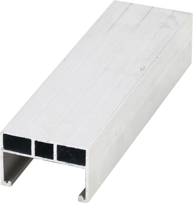 Unterkonstruktion Aluminium seidenmatt 38 x 58 x 4000 mm Raum1