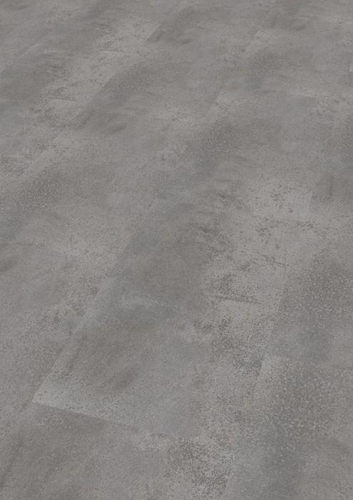 Skaben Vinylboden massiv Life 30 Oxid Grau Fliese Raum1