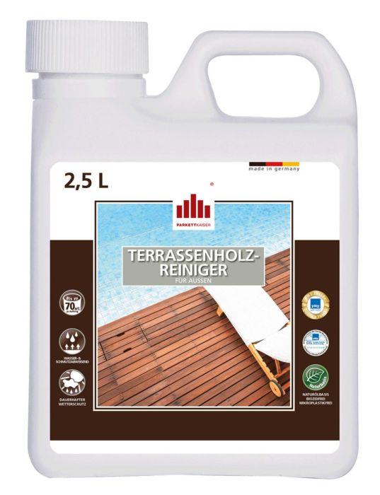 Terrassenholzreiniger für alle Gartenhölzer im Außenbereich