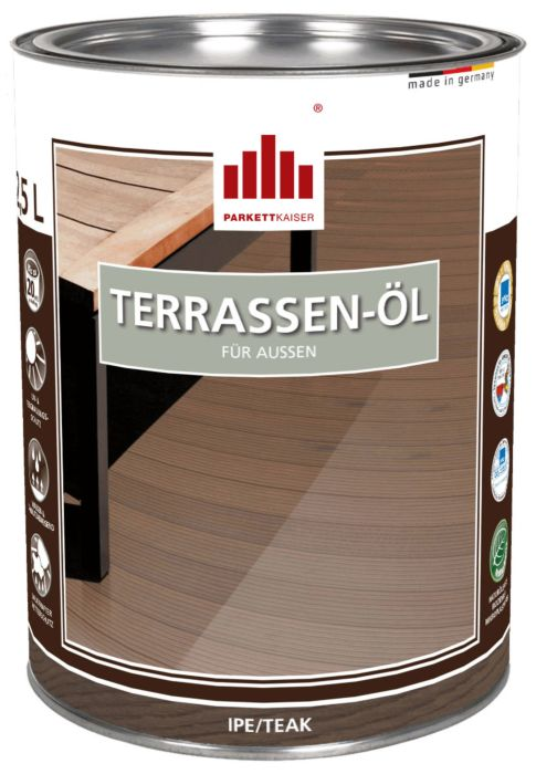 Terrassenöl farblich pigmentiert für Ipe, Teak