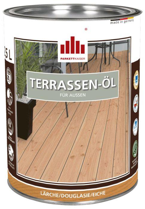 Terrassenöl farblich pigmentiert für Lärche, Douglasie, Eiche