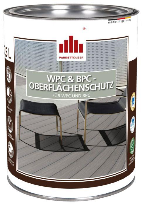 WPC & BPC Oberflächenschutz von WPC & BPC - farblos und lösemittelfrei