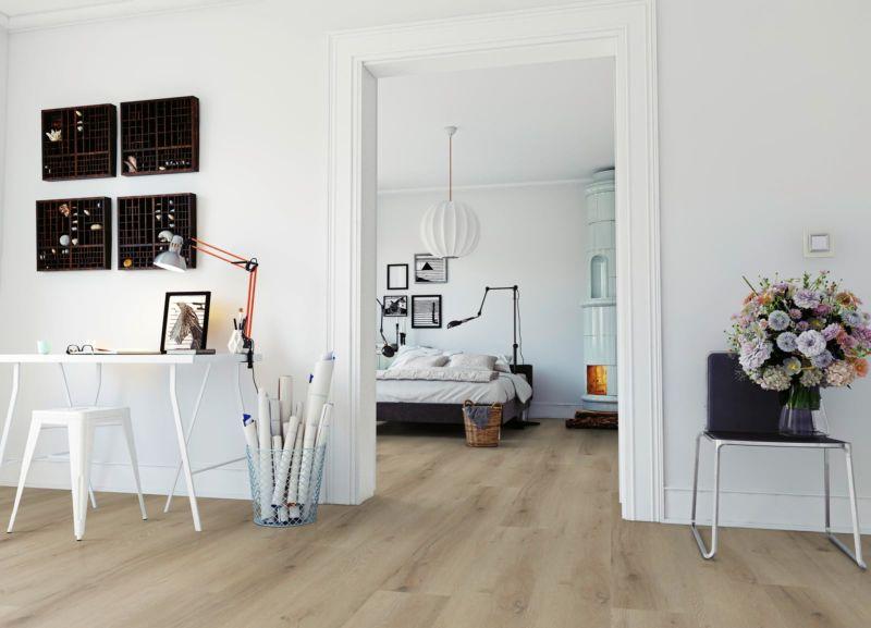 Skaben Design Rhino Click 30 XL Prestige Eiche Hell Natur Real Feel Landhausdiele XL M4V Trittschallmatte Raum2