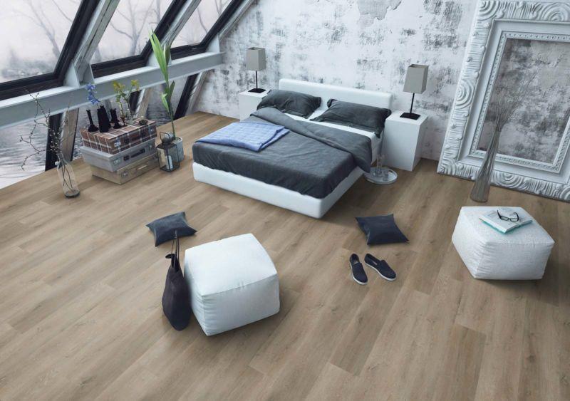 Skaben Design Rhino Click 30 XL Prestige Eiche Natur Real Feel Landhausdiele XL M4V Trittschallmatte Raum3