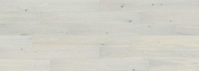 Skaben Parkett Premium 1-Stab Landhausdiele Eiche Lively extramatt versiegelt creme M4V Flächenbild