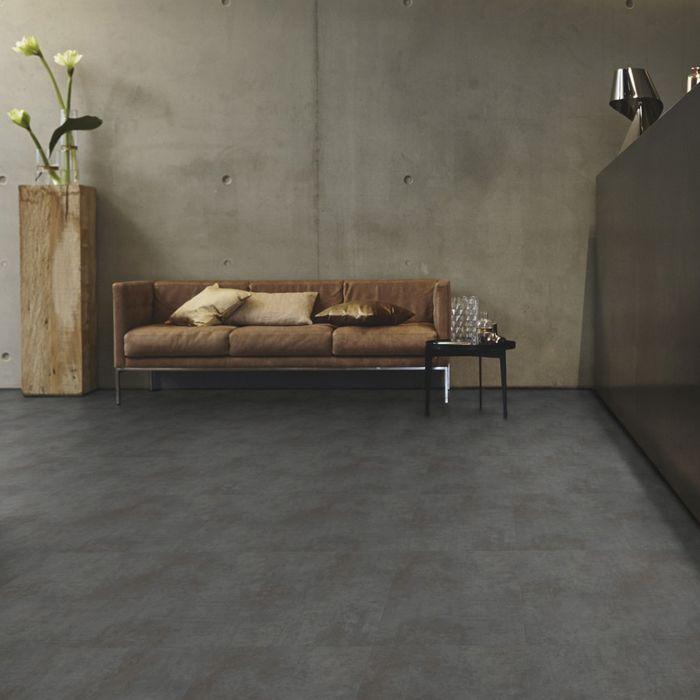 Tarkett Designboden iD Inspiration Click 55 Oxide Black Steel Fliese 4V Erlebnismodus