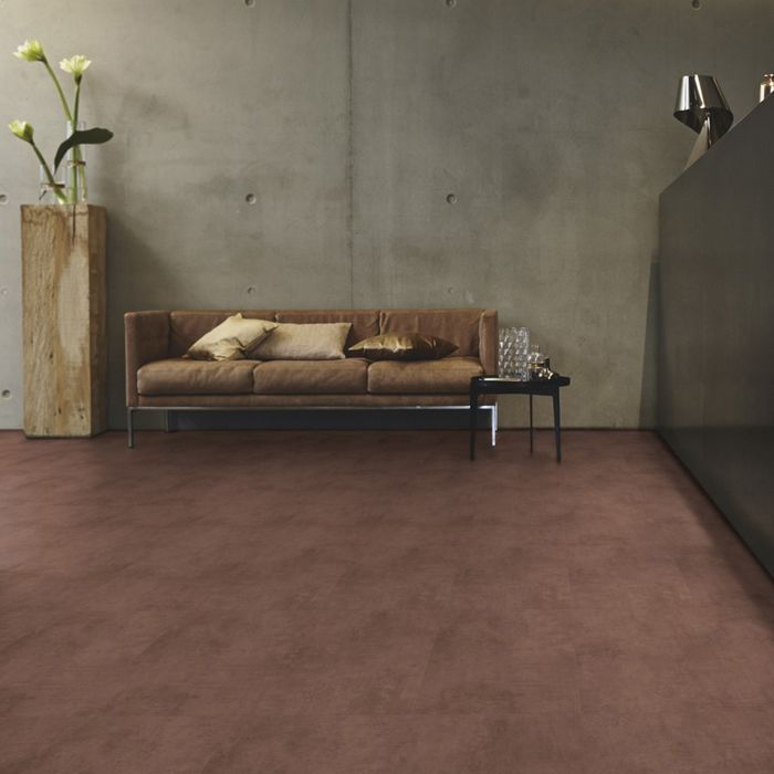 Tarkett Designboden iD Inspiration Click 55 Oxide Copper Fliese 4V Erlebnismodus