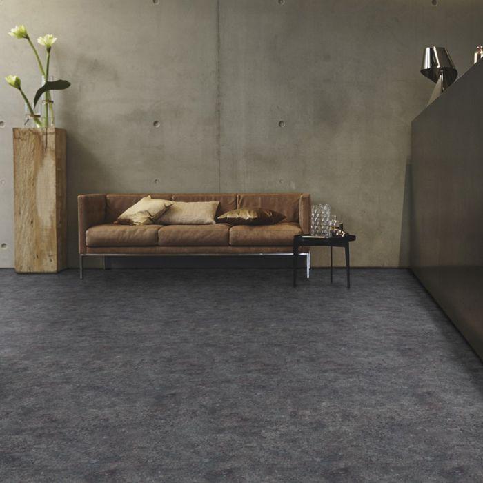 Tarkett Designboden iD Inspiration Click 55 Terrazzo Anthracite Fliese 4V Erlebnismodus