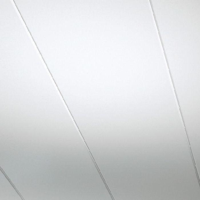 Parador Wand Decke Paneele Novara Hochglanz Weiß 2570x200