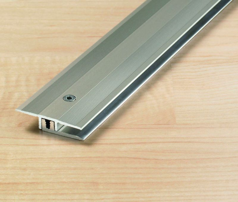 transition Profile 34 mm Alu anodized stainless steel 6,5 -15 mm 270 cm