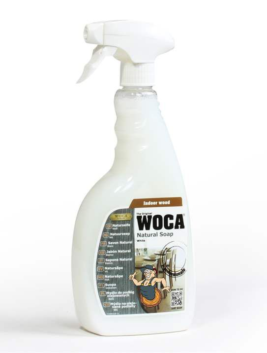 WOCA Natural soap spray - white 750 ml