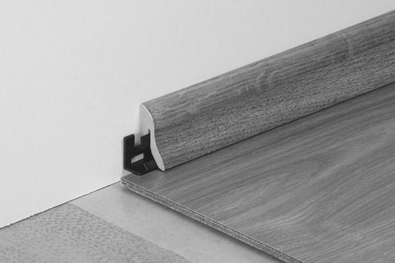 Tarkett Skirting A Oak Heritage dark Height: 4,0 cm