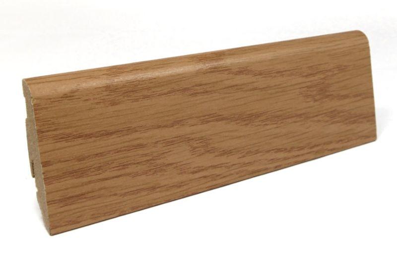 Passende Sockelleiste 6 cm hoch Eiche elegance FOEI027 240 cm