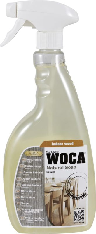 WOCA Natural soap spray - natural 750 ml