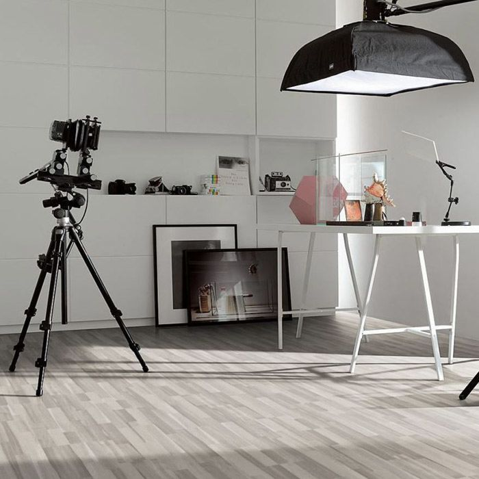 Parador Laminate Flooring Basic 200 Acacia Grey 3-plank ship's floor