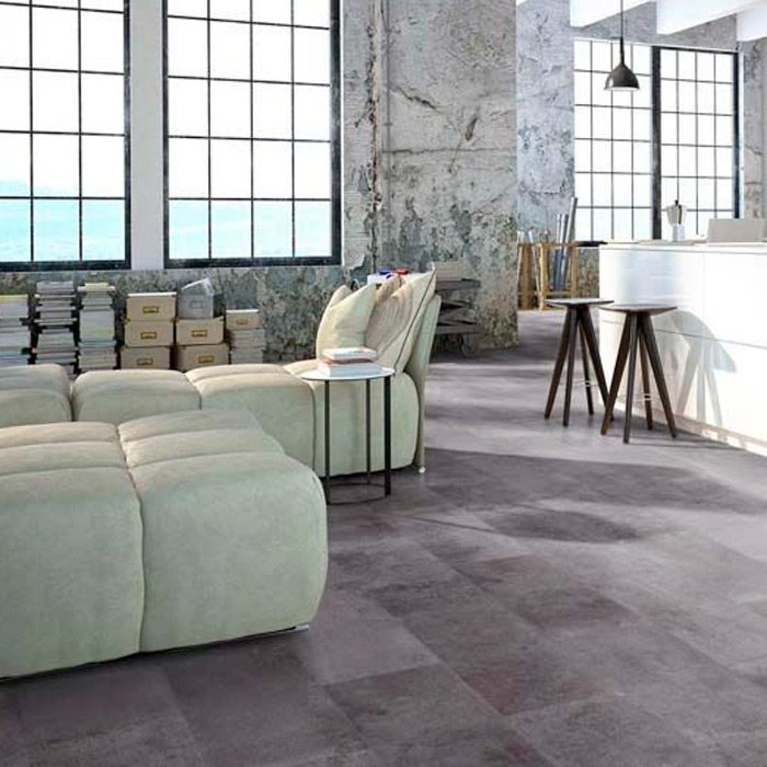 Classen Laminate Visiogrande Cement screed taupe Tile 4V for clicking