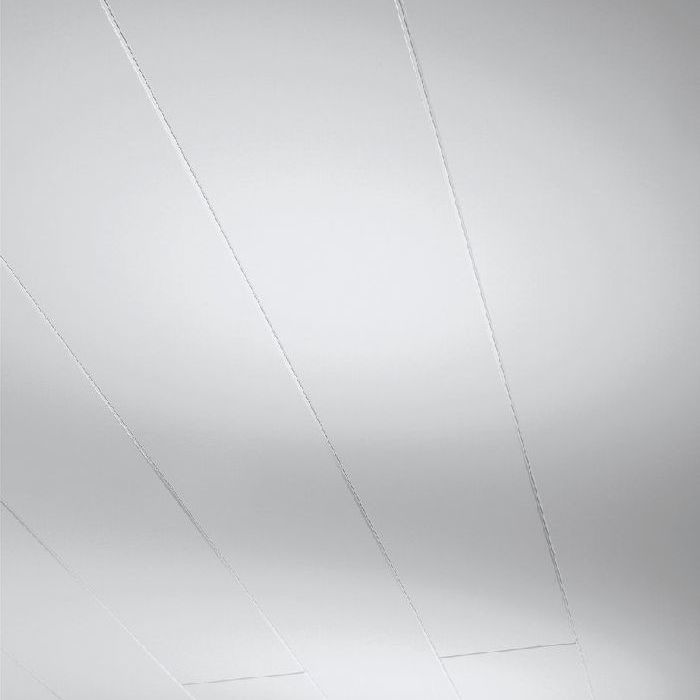 Parador Wand/Decke Dekorpaneele Novara Seidenmatt weiß 2570x200