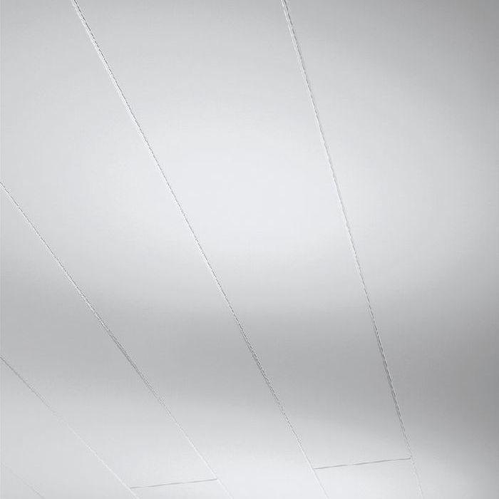 Parador Wand/Decke Dekorpaneele Novara Seidenmatt weiß 1250x200