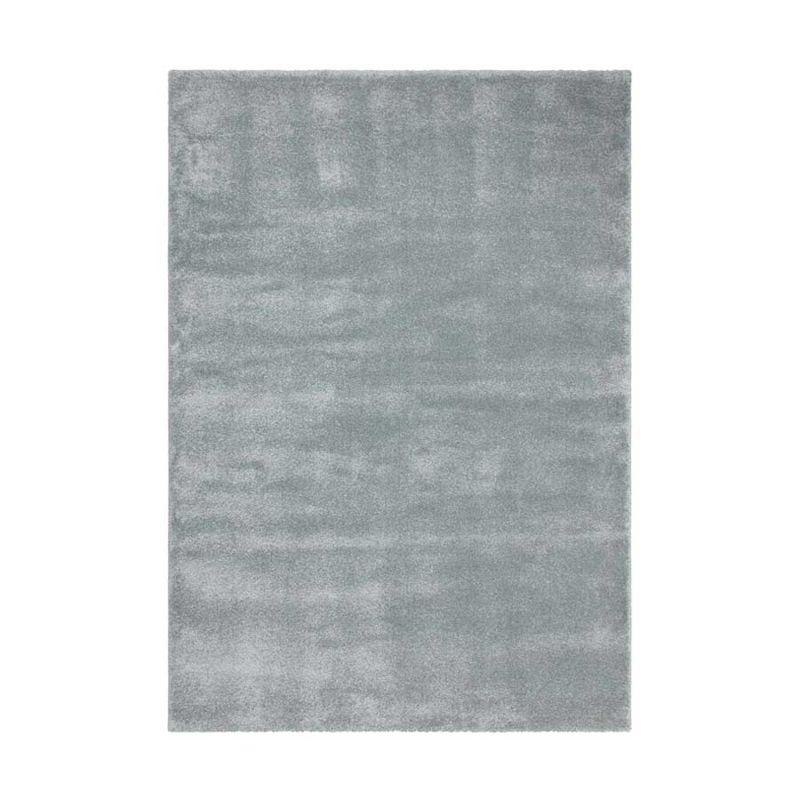 Hochflorteppich Pastellblau CLASSIC rechteckig Höhe 23 mm