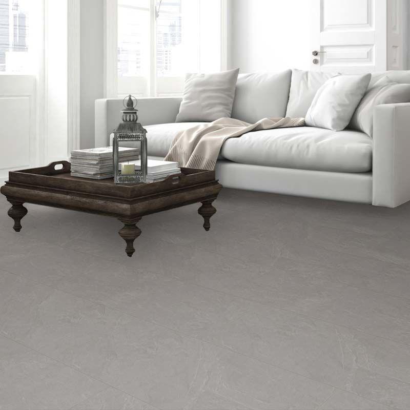 Meister laminate MeisterDesign. laminate LB 150 slate grey 6136 tile 4V