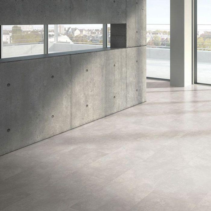 Parador Designboden Modular ONE Beton Ornament Weiss Großfliese 4V