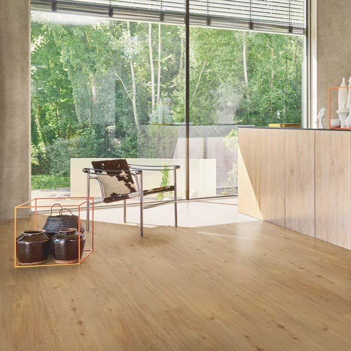 Parador Vinylboden Basic 5.3 Eiche natur 1-Stab Landhausdiele 4V Trittschalldämmung Erlebnismodus