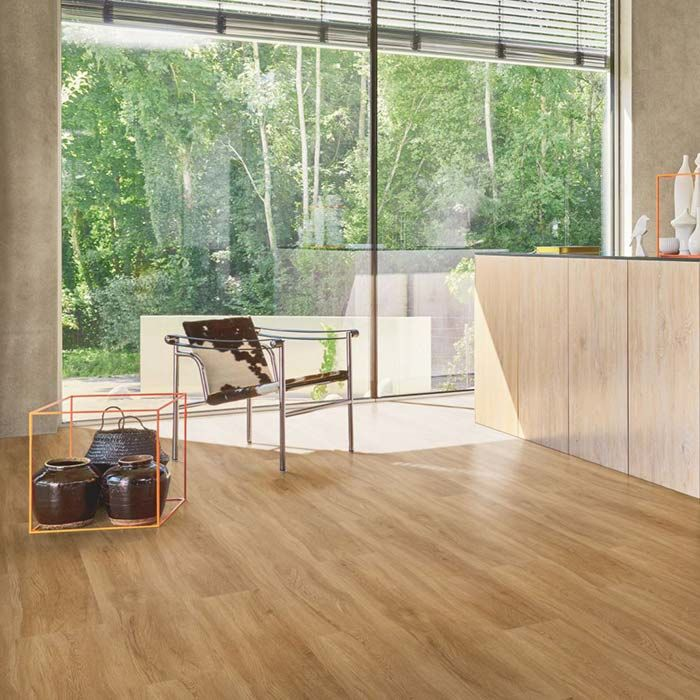 Parador Vinylboden Basic 5.3 Eiche Sierra natur 1-Stab Landhausdiele 4V Trittschalldämmung Erlebnismodus