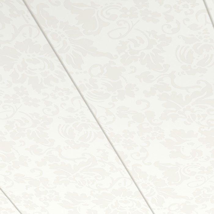 Parador Wand/Decke Dekorpaneele Style Floral Weiss 1280x182 Erlebnismodus