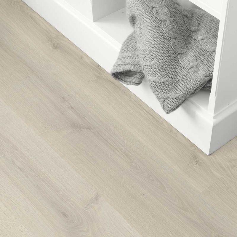Egger Home Laminat 8/32 Classic White Kolpino Oak EHL133 1-Stab Landhausdiele