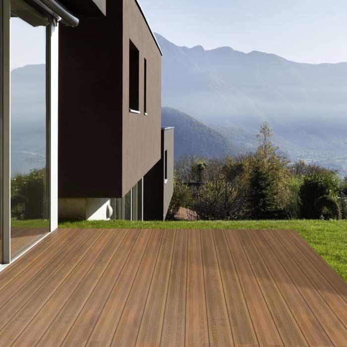 Holzterrasse Garapa Prime französisch 21 x 145 x 1220-6100