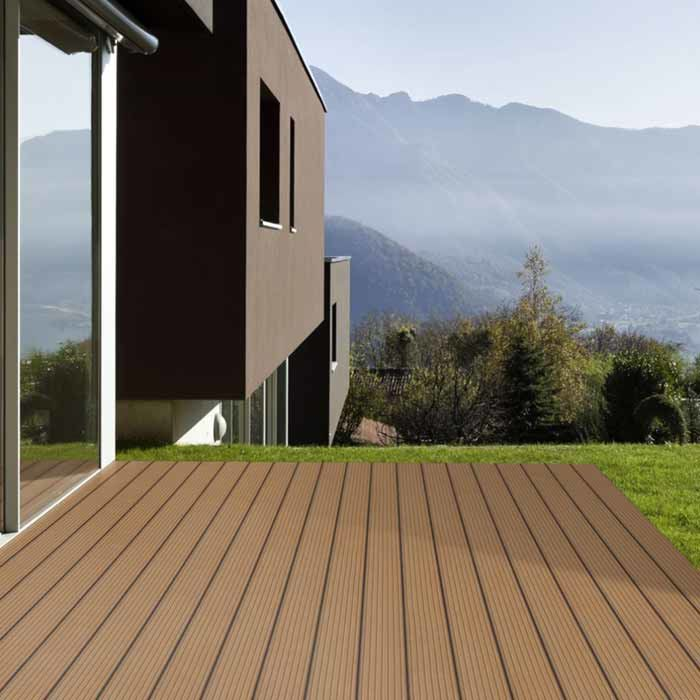 Holzterrasse Garapa Prime genutet 21 x 145 x 1220-6100