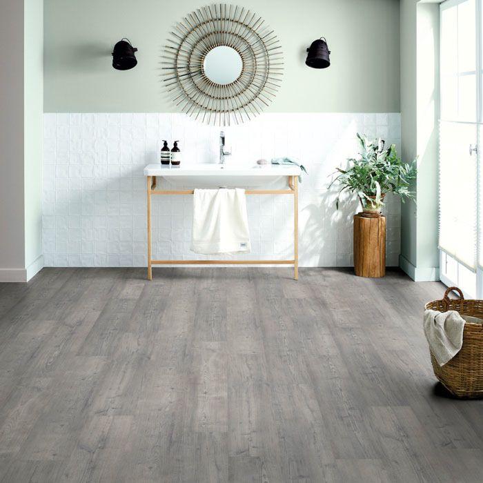 Schöner Wohnen Designboden Aqua Komfort Pinie Quarz 1-Stab Landhausdiele M4V